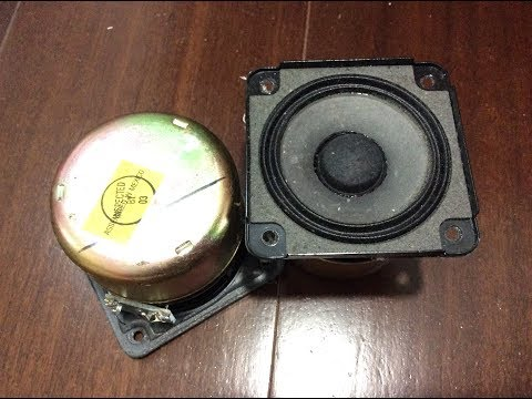 Bose Wave music system speaker test