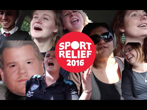 St Mary's Sports Relief 2016 || Carpool Karaoke