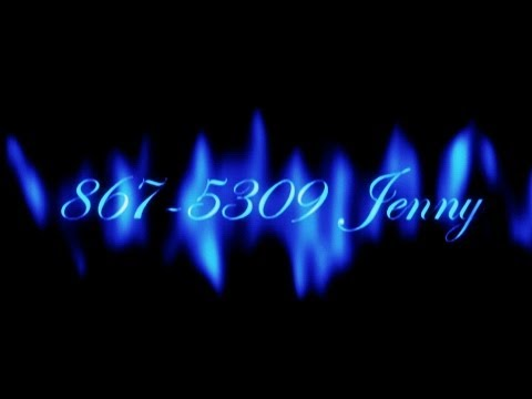 867-5309 Jenny                       Tommy Tutone  ( lyrics )