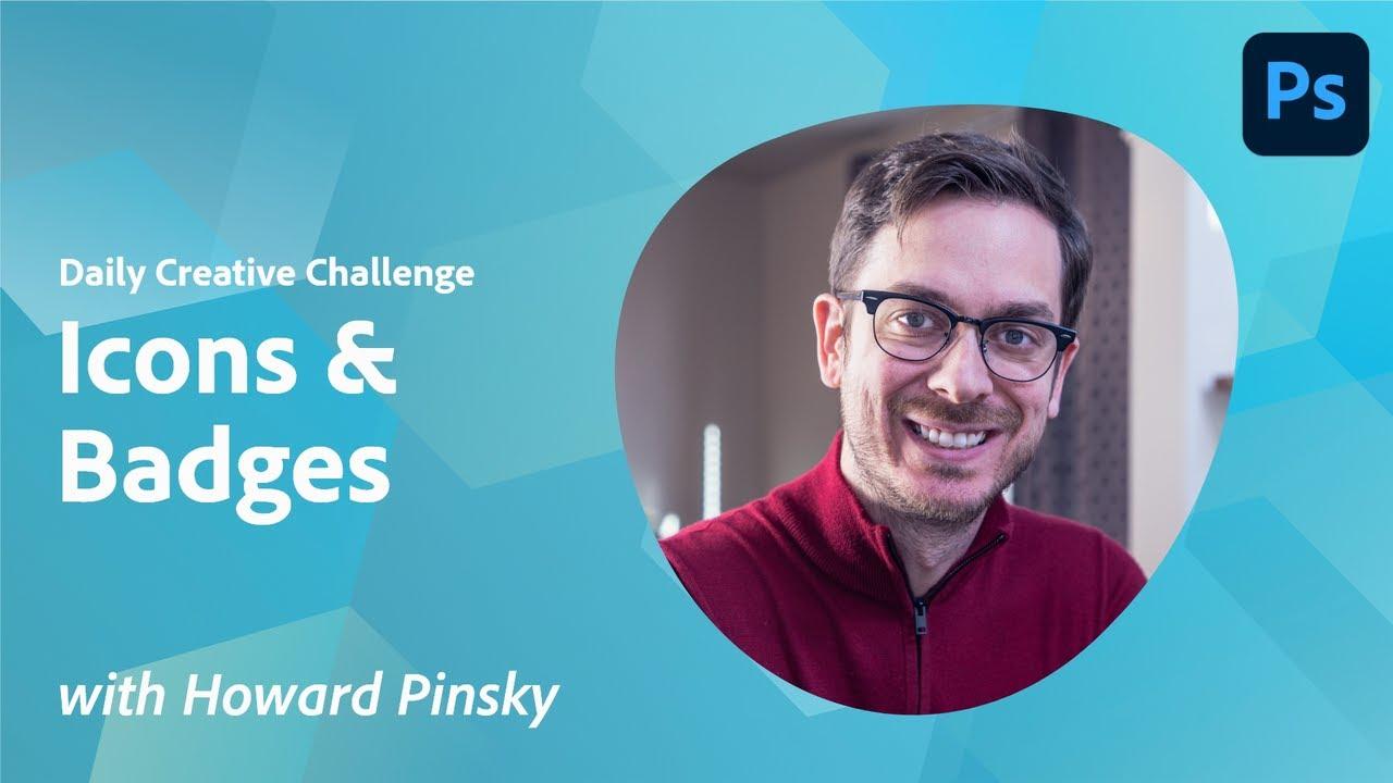 Creative Encore: Photoshop Daily Creative Challenge - Icons & Badges
