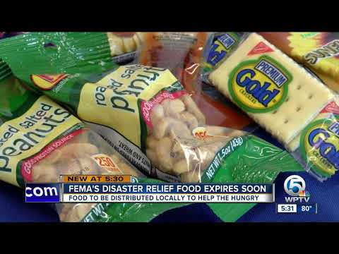 FEMA's disaster relief food expires soon
