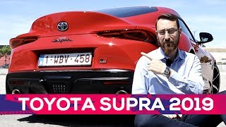 Así es el nuevo Toyota Supra 2019 | Prueba | SoyMotor.com