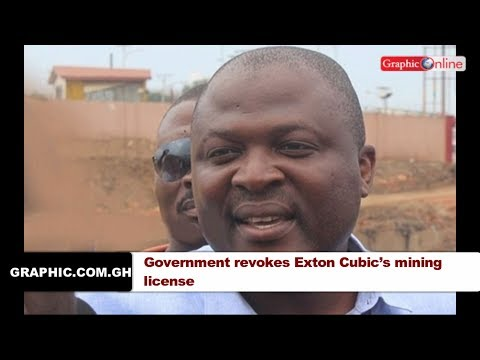 News in brief September 4, 2017. Government revokes Exton Cubic's mining license