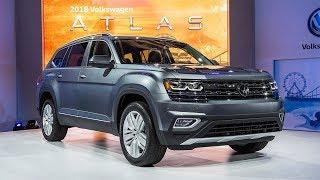 видео Представлен новый 7-местный кроссовер Volkswagen Atlas