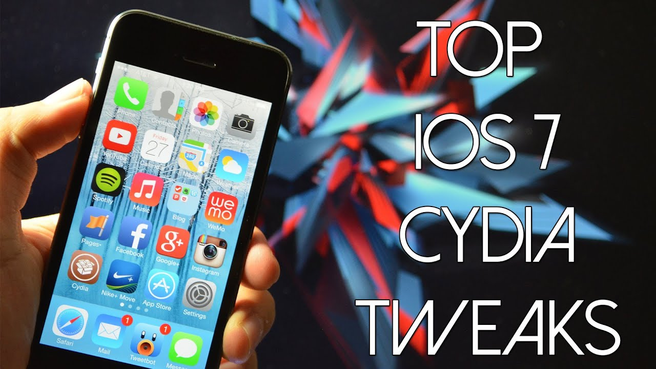 Ios 7 Jailbreak Top Free Ios 7 Compatible Cydia Tweaks Youtube