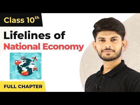 Lifelines of National Economy Full Chapter Class 10 Geography | CBSE Geography Class 10 Chapter 7
