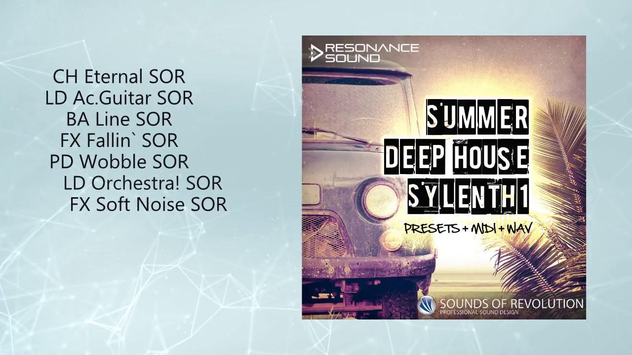 SOR – Summer Deep House Sylenth1
