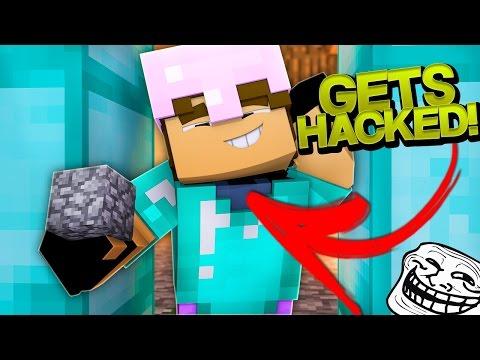HACKER GETS HACKED! (Minecraft Trolling Ep 127)