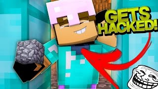 PRETENDING TO BE A HACKER ON MY SERVER! (Minecraft Trolling Ep 127)