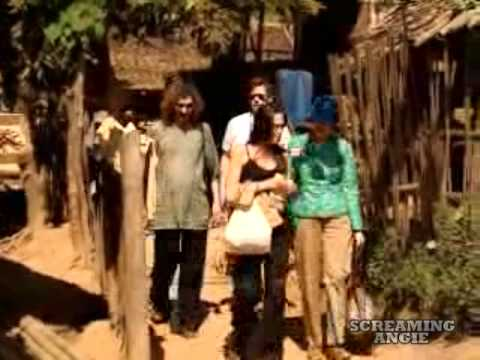 Angelina Jolie visit refugee in thailand -rough cut