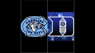 2002-2003 North Carolina Tarheels at Duke Blue Devils NCAA Basketball 2K3.