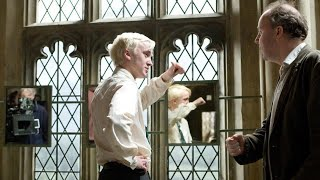 Tom Felton Behind the Scenes of Harry Potter