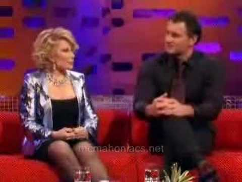 Julian mcMahon on Graham Norton  UK