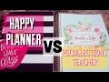 HAPPY PLANNER TEACHER PLANNER VS. RECOLLECTIONS TEACHER PLANNER | PLANNER COMPARISON