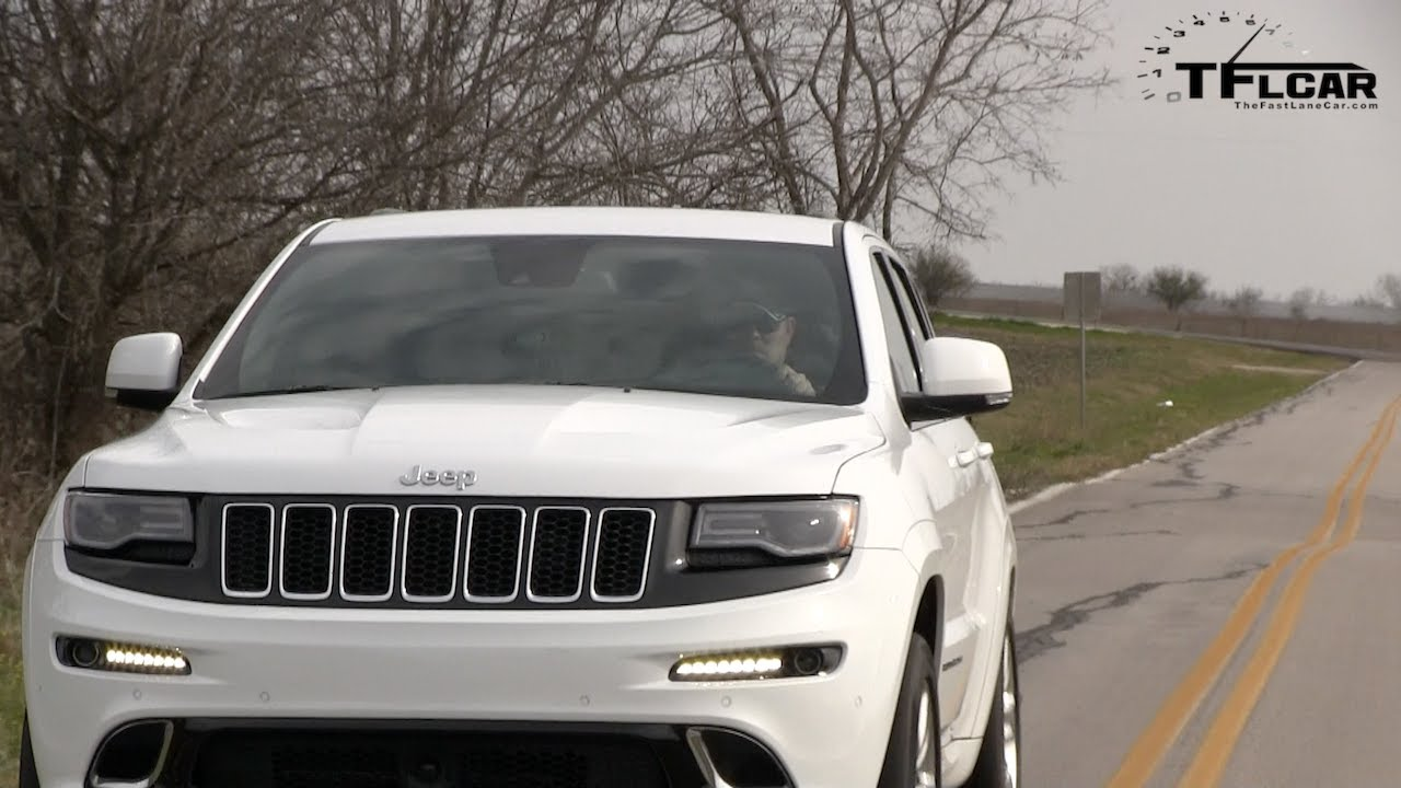 2014 jeep grand cherokee srt 0-60 mph launch control test - youtube