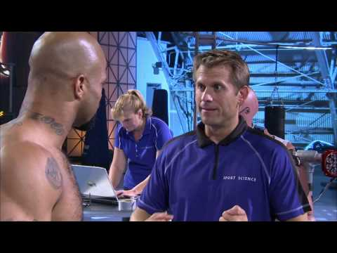 Sports Science:  MMA fighter Houston Alexander's Adrenaline shot Part 1