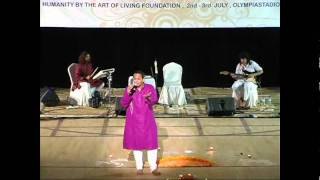 Vikram Hazra   Rhythms of Peace www.worldculturefestival.org  Narayana Hari Om + Beautiful Feeling