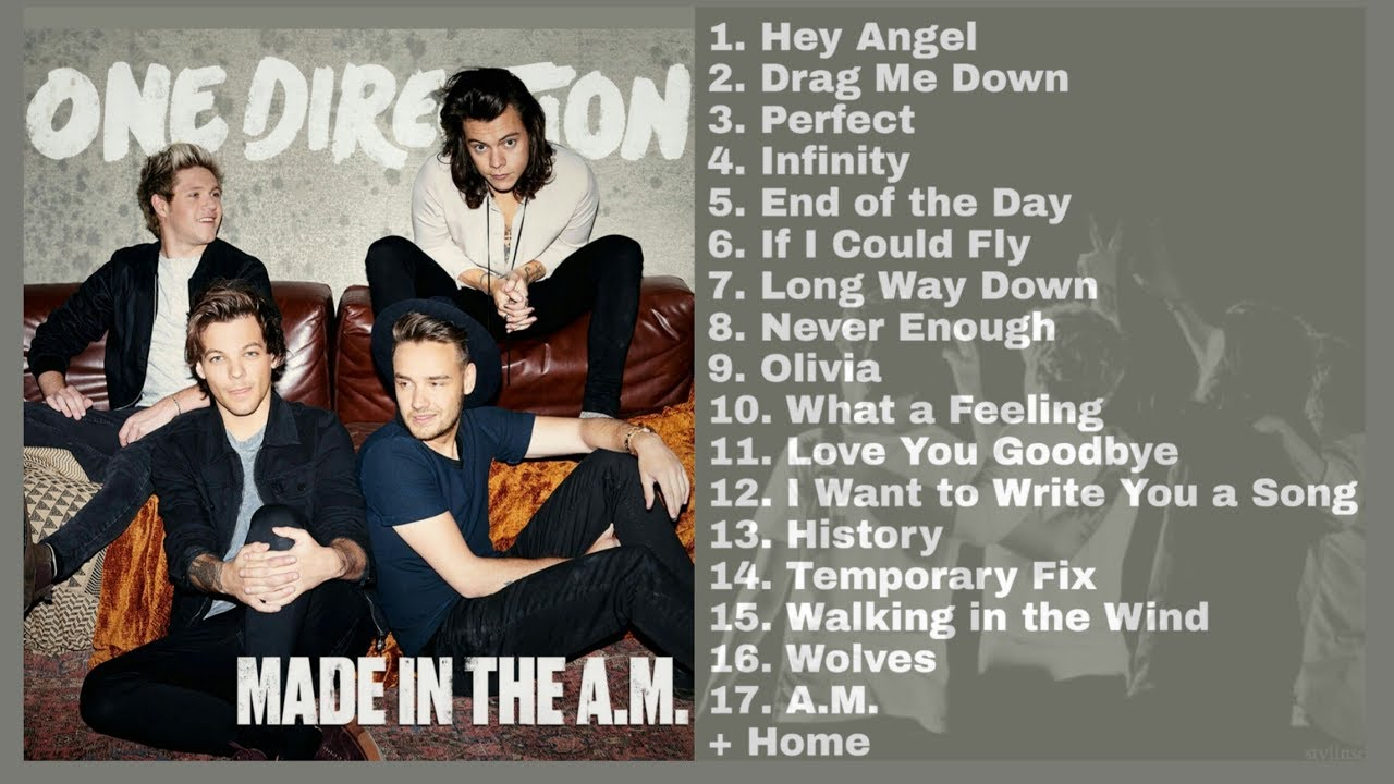 One Direction - Made In The A M FULL ALBUM (Audio)