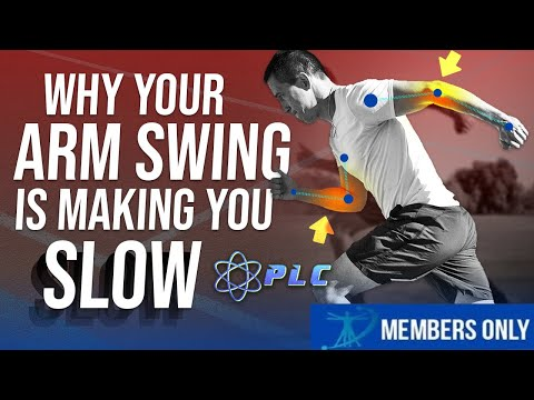 Why Your Arm Swing Is Making You Slower | How to Get Faster
