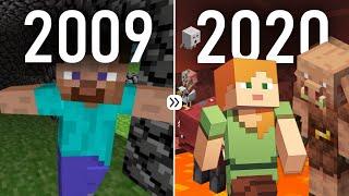 Minecraft: Evolution 2009 to 2020 (Nether Update)