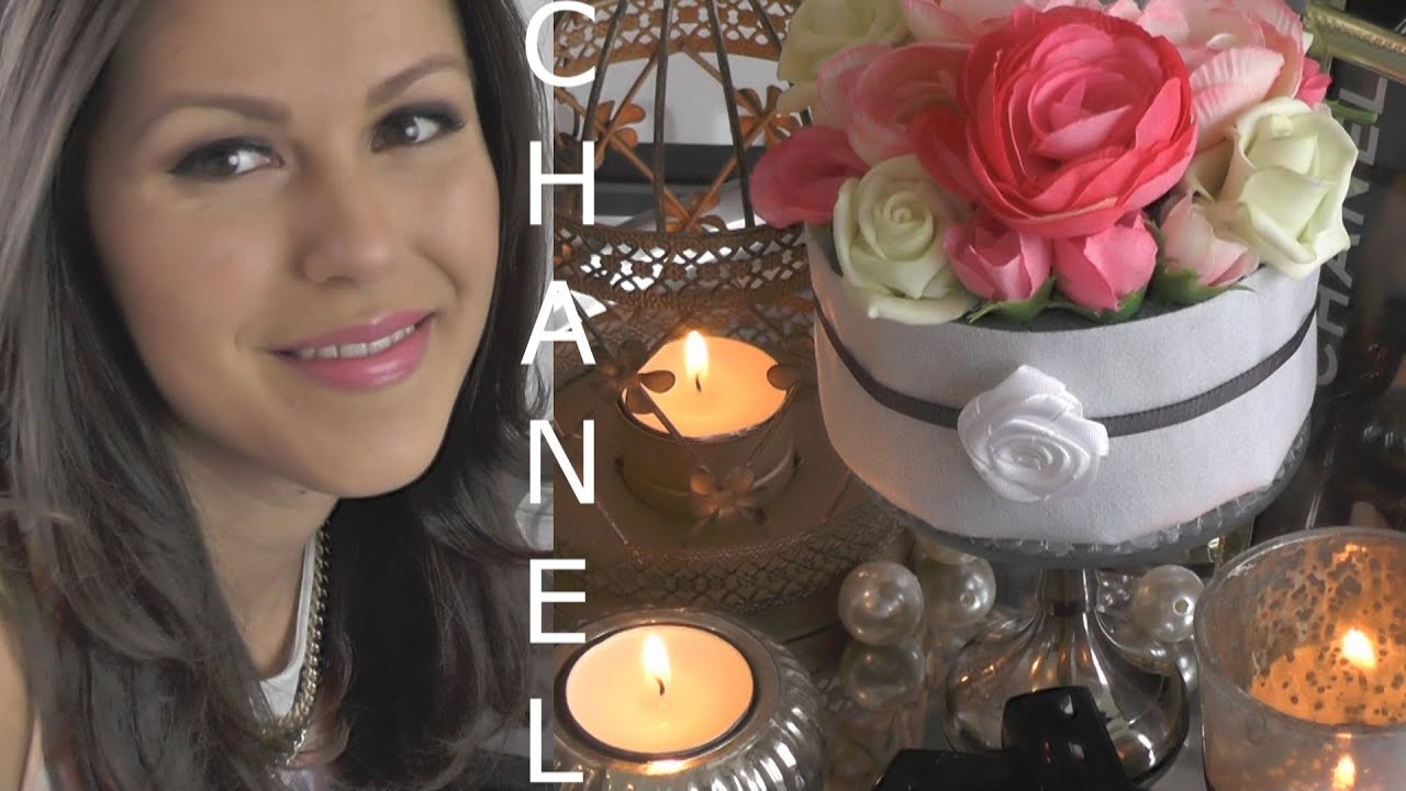 Kamer Decoratie Diy Chanel Inspired Room Decoration Kamer Decoratie