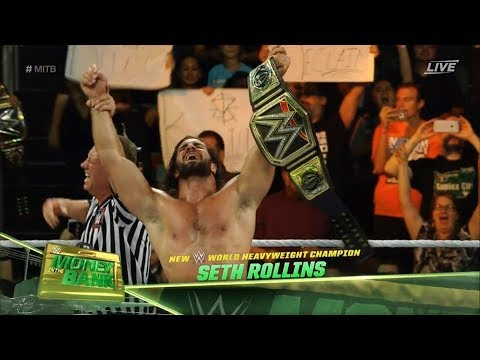 Download Seth Rollins Vs. Roman Reigns - WWE ChampionShip - Money In The Bank 2016 Highlights