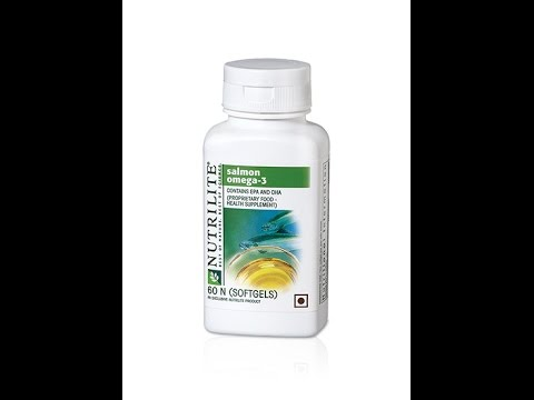 About Amway Nutrilite Salmon Omega 3