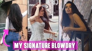 How to Blowdry THICK hair!