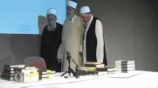 Tahir ul Qadri in wajd while listening Prophet Muhammad (PBUH) naat.flv