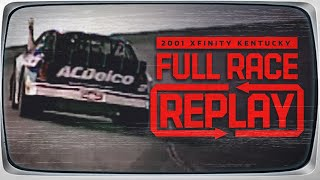 2001 Outback Steakhouse 300 from Kentucky | NASCAR Classic Full Race Replay | NASCAR Xfinity Series
