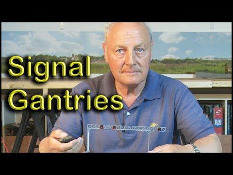 Making a Signal Gantry at Chadwick Model Railway | 30.
