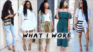 What I Wore | WEEKEND OUTFITS (lookbook)