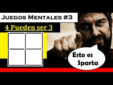Juegos Mentales 3 4 Pueden Ser 3 Youtube