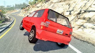 Loss of Control Crashes #22 – BeamNG Drive | CrashBoomPunk