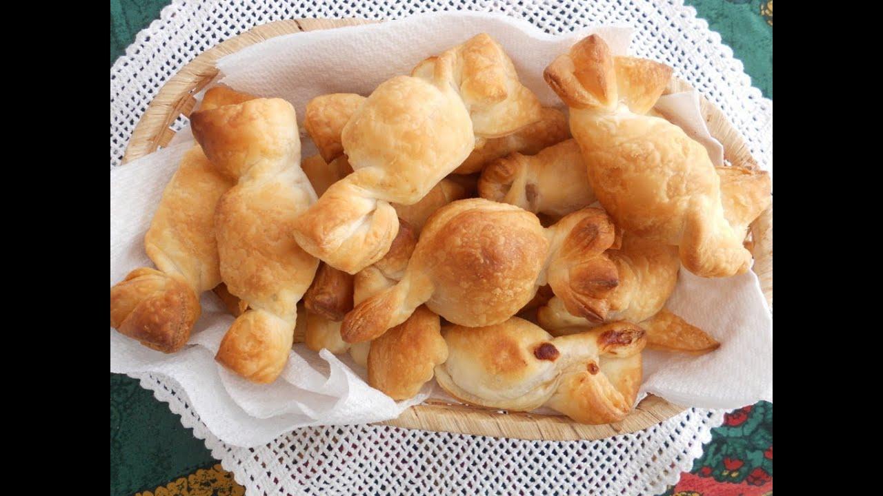 Eccezionale Caramelle di pasta sfoglia,FINGER FOOD SEMPLICE e VELOCE antipasto  PO38