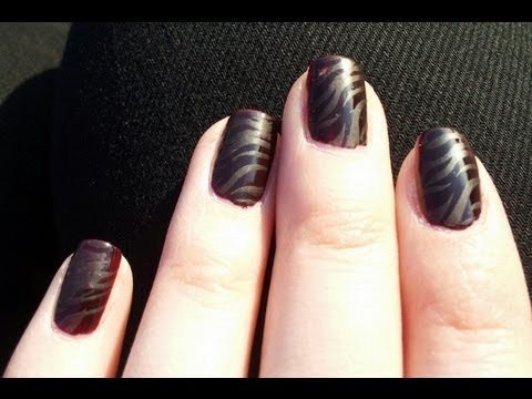 playing with matt nageldesign nailart mit glanz und matt effekten youtube. Black Bedroom Furniture Sets. Home Design Ideas