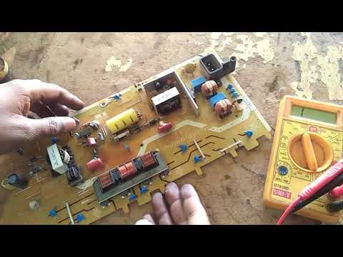 How To Repair Toshiba Lcd Tv Power Supply