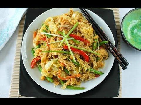 How to Make Singapore Vegan Noodles