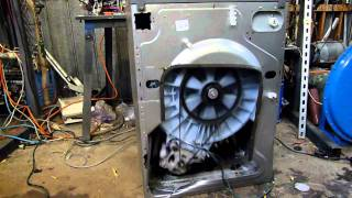 Crazy  Hotpoint Washer
