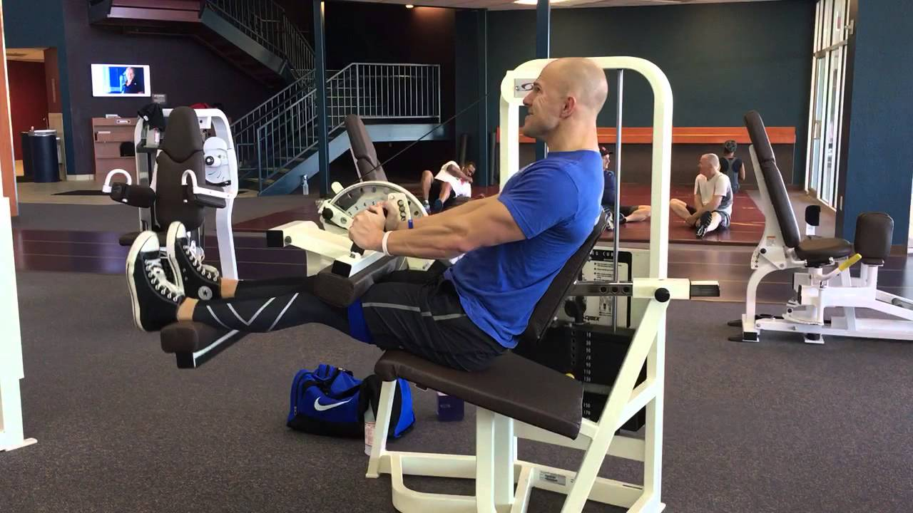Accentuated Eccentric Seated Hamstring Curl