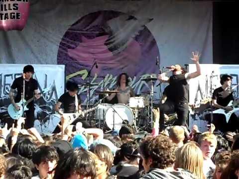 Alesana-Ambrosia Live @ Warped Tour 2010, Carson, CA