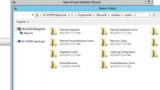 Create a Virtual Machine in Hyper-V Server 2012 R2