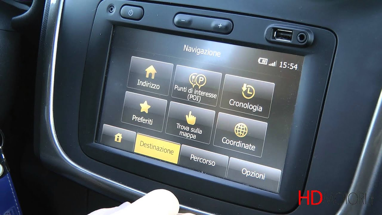 dacia sandero stepway focus infotainment da hdmotori it