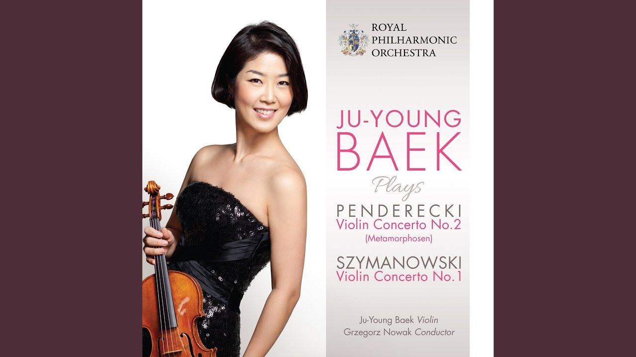 "Violin Concerto No. 2, ""Metamorphosen"": Andante con moto - Tempo primo"