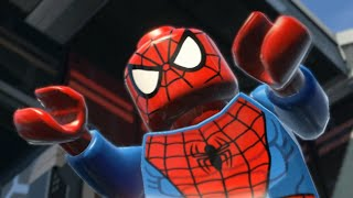 Lego Marvel The Movie Game - Spiderman part 3 (HD) 2015