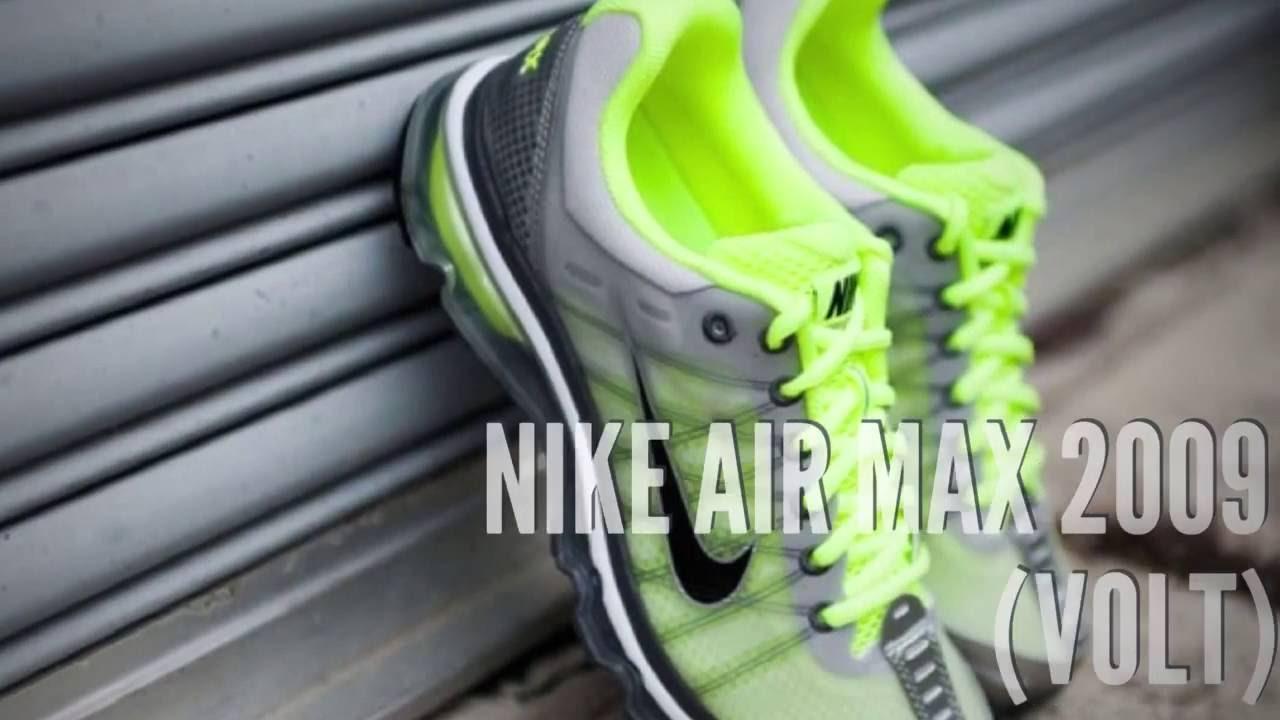 nike air max 2010 air attack pack neon volt