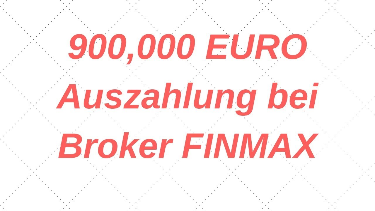 Finmax Auszahlung