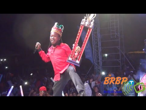 KING DICE WINS DOMINICA CALYPSO MONARCH 2016 LIVE