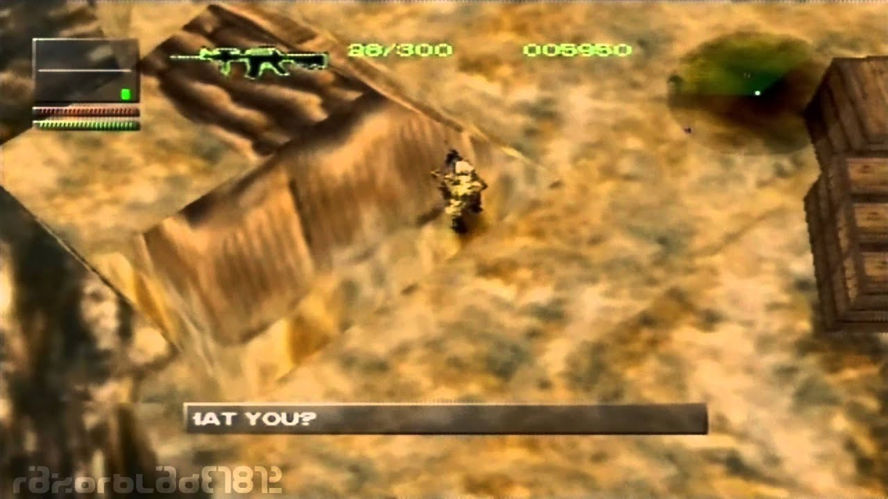 PS1 - Spec Ops: Airborne Commando - Mission 10 - Cut Off the Head ...