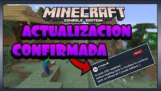 NUEVA ACTUALIZACIÓN CONFIRMADA Minecraft ps3/ps4/psvita/wiiu/switch/one/360